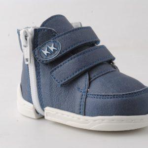 Azaga - cipzáros talpú cipő az első lépésekhez - zárt cipő - kék