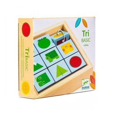 Gyerekjáték Forgatható kockakirakó - Tribasic1