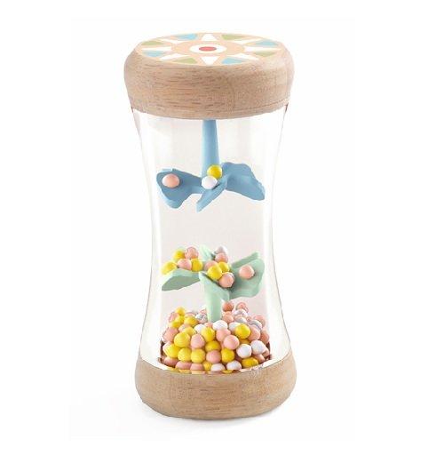 Babajáték - Esőbot csörgő- BabyPlui