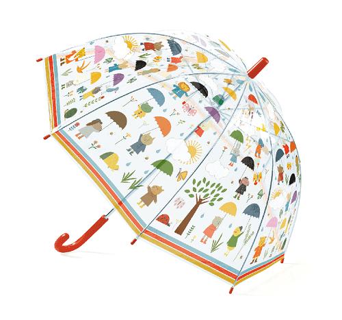Gyerek esernyő esernyőt tartó állatok
