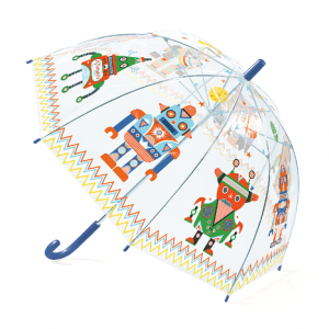 Gyerek esernyő – robotok