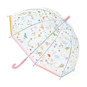 Gyerek esernyő – rózsaszín virágok