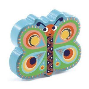 Játékhangszer – Pillangó csörgő (maracas)