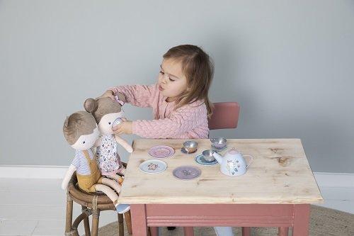 Little Dutch - Fém teáskészlet