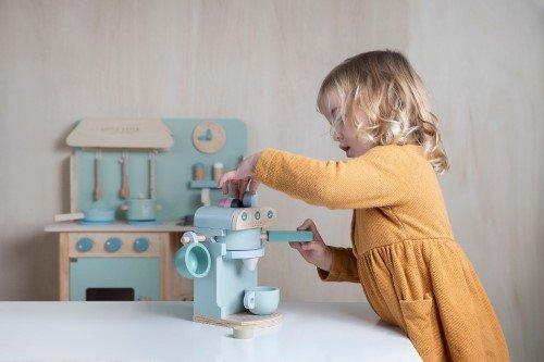 Little Dutch fa játék kávéfőző 2
