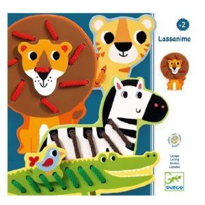 Fűzős játék – Lassanimo