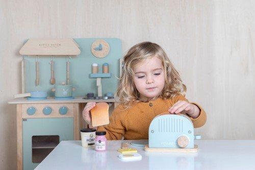 Little Dutch fa játék kenyérpirító 4