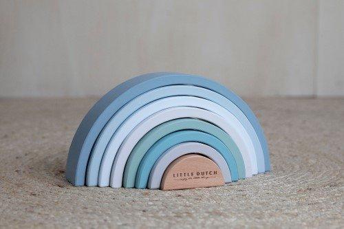 Little Dutch - Fa szivárvány - kék