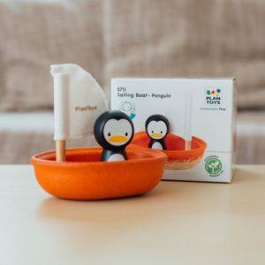 Fürdőjáték – Vitorlás csónak – Pingvin