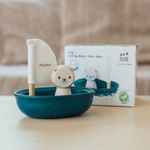 Fürdőjáték – Vitorlás csónak – Jegesmedve