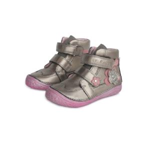 D.D.Step – Vízlepergető átmeneti gyerekcipő – zárt cipő – pezsgő – rózsaszín – lány