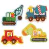 Petit Collage puzzle - kezdő kirakó - munkagépek
