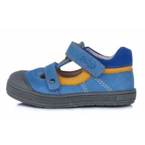 Ponte20 – Nyitott gyerekcipő – zárt szandál – kék-sárga – fiú