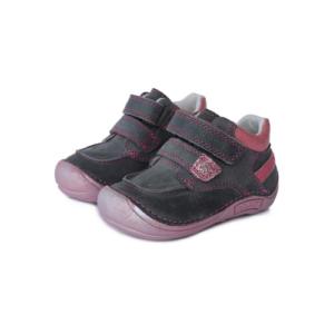 D.D.Step – Vízlepergető átmeneti gyerekcipő – zárt cipő – szürke-rózsaszín – lány