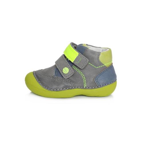 D.D.Step - Vízlepergető - Átmeneti gyerekcipő - szürke zöld- kisfiú cipő