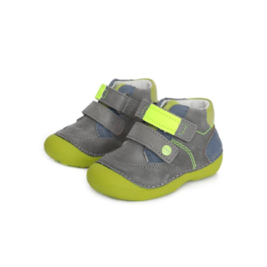 D.D.Step – Átmeneti gyerekcipő – szürke zöld- kisfiú cipő