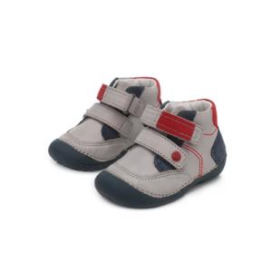 D.D.Step – Átmeneti gyerekcipő – szürke piros – kisfiú cipő