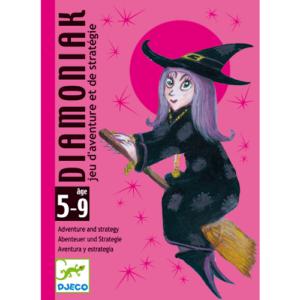 Kártyajáték – Tündér és boszorkány – Diamoniak (Djeco, 5117)