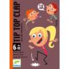 Kártyajáték - Tip-Top-Clap (Djeco, 5120)