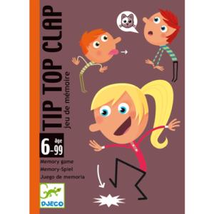 Kártyajáték – Tip-Top-Clap (Djeco, 5120)