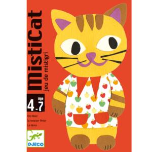 Kártyajáték – Misticat – Macskaikrek (Djeco, 5141)