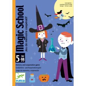 Kártyajáték – Varázsló iskola – Magic school (Djeco, 5144)