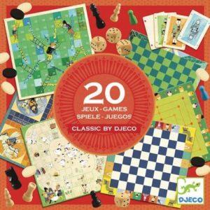Klasszikus társasjátékok (Djeco, 5219)