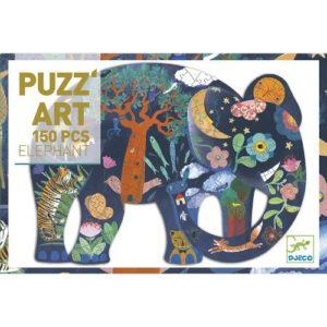 Művész puzzle – Elefánt (Djeco, 7652)