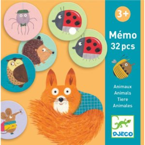 Memóriajáték állatokkal (Djeco, 8116)