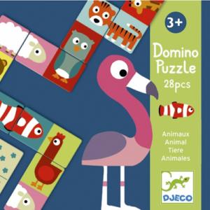 Párosító dominó – állatok (Djeco, 8165)