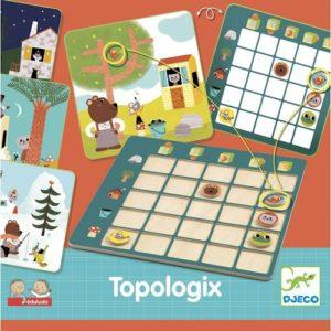 Viszonyító, fejlesztő játék – Eduludo Topologix (Djeco, 8354)