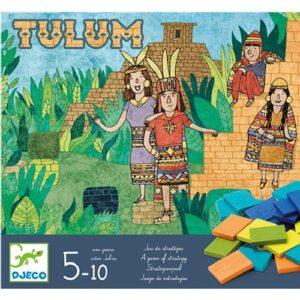 Piramisépítő társasjáték – Tulum (Djeco, 8400)