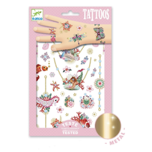 Tetováló matricák – Fiona ékszerei  (Djeco, 9586)