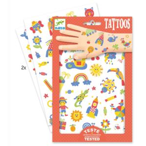 Tetováló matricák – Fantáziaország (Djeco, 9589)