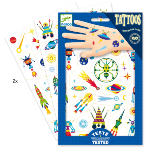 Tetováló matricák – Űrutazás (Djeco, 9590)