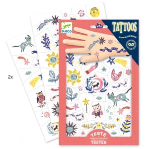 Tetováló matricák – Álomvilág (Djeco, 9592)