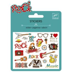 Mini matrica szett – Pop és Rock (Djeco, 9767)