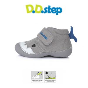 D.D.Step – Puhatalpú vászoncipő – bálna – kisfiú cipő
