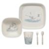 Little Dutch Bambusz étkészlet - jeges medve és pingvin