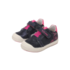 D.D.Step - Vízlepergető - Átmeneti gyerekcipő - Unikornis sötétkék - kislány bokacipő