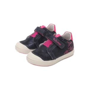D.D.Step – Átmeneti gyerekcipő – Unikornis sötétkék – kislány bokacipő