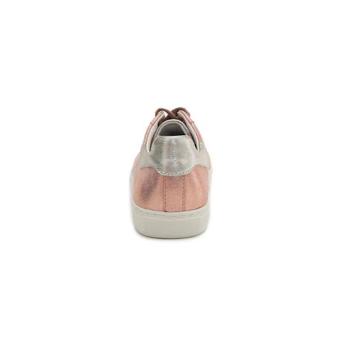 Stitch & Walk- Pezsgő színű - unikornisos női bőr cipő