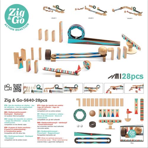 ÉpÉpítőjáték - Zig&Go (Djeco 5640)
