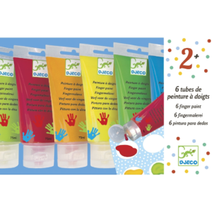 Ujjfesték készlet – 6 szín