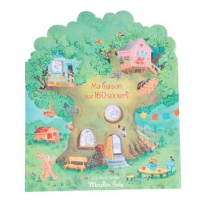 Moulin Roty – Matricázó és színező album – Az én házam