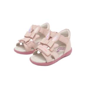 D.D.Step – Nyitott gyerekcipő – bőr szandál – nyuszi füles -kislány