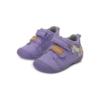 D.D.Step - Átmeneti vászon gyerekcipő - Lila unikornis - kislány első lépés cipő