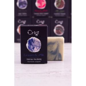 ORIGI Natúrkozmetikum – Szappan – krémes kecsketejes