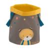 Moulin Roty - textil játéktároló kosár - Lulu cica