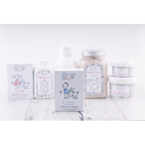 ORIGI Natúrkozmetikum – Gyerek szappan – Kecsketejes, fiúknak